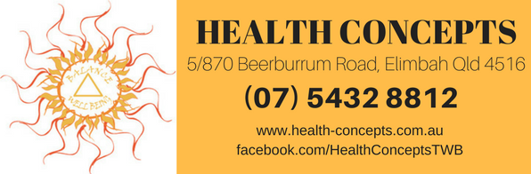 HEALTH CONCEPTS banner